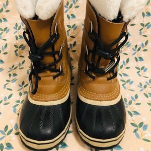 Like New SOREL YOUTH CARIBOU™ BOOT SZ 3